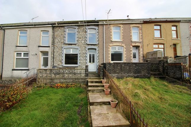 Thumbnail Terraced house to rent in Brynogwy Terrace, Nantymoel, Bridgend County.