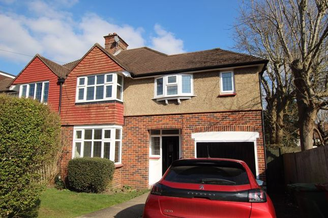3 bed semi-detached house to rent in Digdens Rise, Epsom KT18