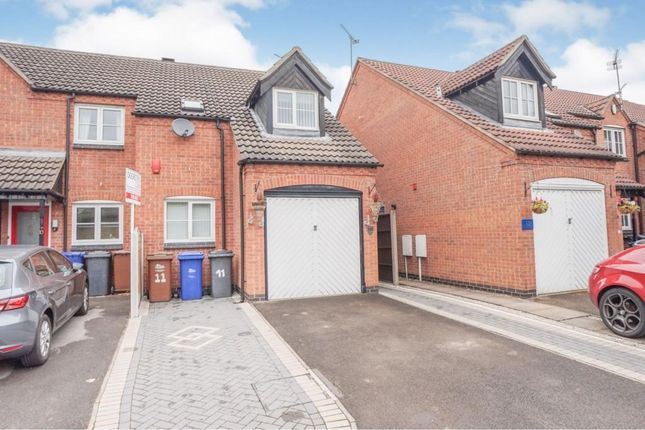 Thumbnail Semi-detached house to rent in Horninglow Croft, Horninglow, Burton-On-Trent
