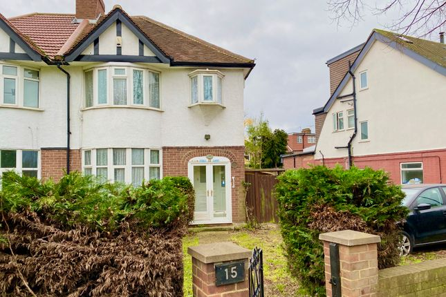 Thumbnail Semi-detached house to rent in Ruislip Road East, West Ealing, London