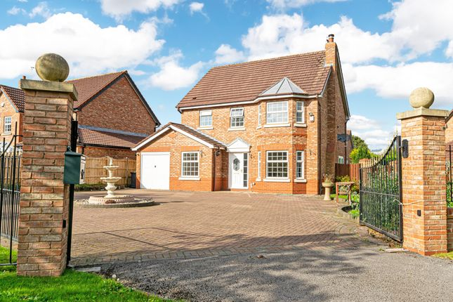Thumbnail Detached house for sale in Pewterspear Green Road, Appleton, Warrington