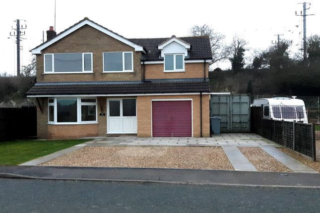 Thumbnail Detached house to rent in Station Road, Little Bytham, Grantham
