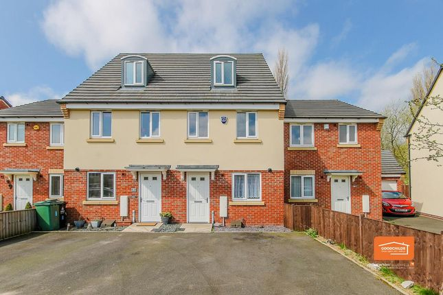 Thumbnail Town house for sale in Penmire Grove, Rushall, Walsall