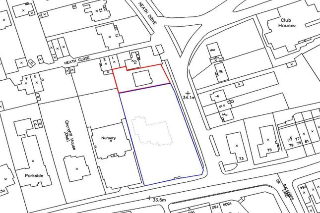 Thumbnail Land for sale in Heath Drive, Gidea Park
