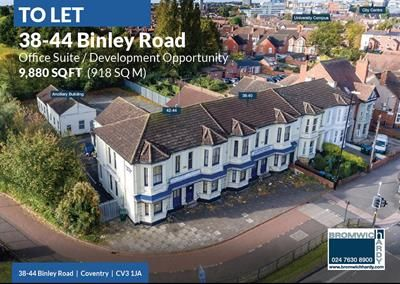 Thumbnail Office to let in Clifford House, 38-44 Binley Road, Coventry, West Midlands