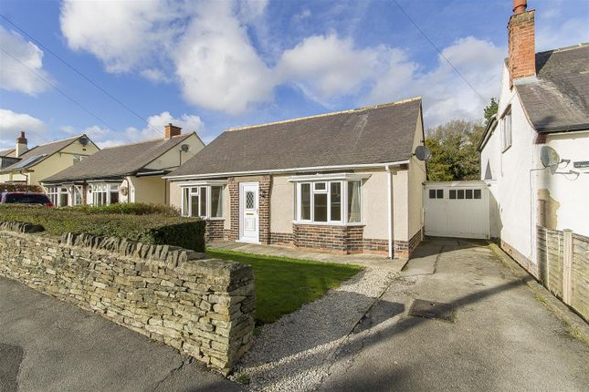 Thumbnail Detached bungalow for sale in Westbourne Grove, Brampton, Chesterfield