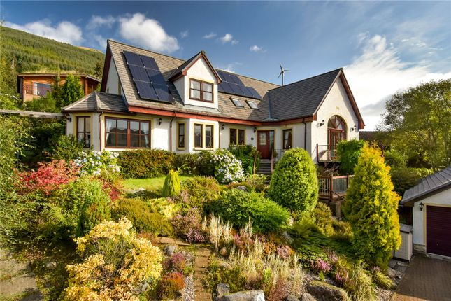 Thumbnail Detached house for sale in Killellan, Vorlich Road, Lochearnhead, Perthshire