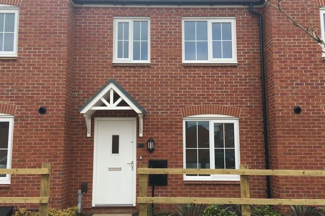 Thumbnail Terraced house for sale in Liberty Gardens, Barkby Road, Syston, Leicestershire