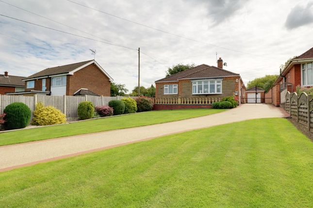 Thumbnail Detached bungalow for sale in Barton Road, Wrawby, Brigg