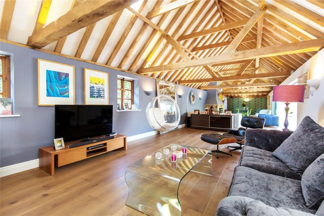 Thumbnail Barn conversion for sale in Brighton Road, Shermanbury, Horsham, West Sussex