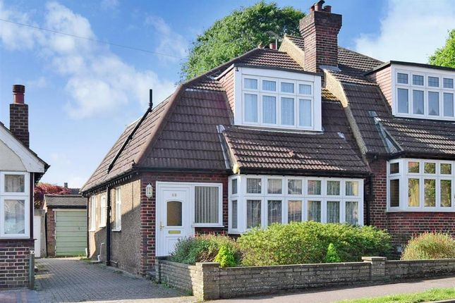 Thumbnail Semi-detached house for sale in Queenswood Avenue, Wallington, Surrey