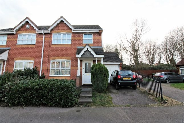 Thumbnail Semi-detached house for sale in Riverbank Road, Willenhall