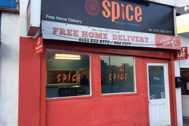 Restaurant/cafe for sale in 38 Upton Road, Birkenhead
