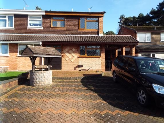 3 bed semi-detached house for sale in Carmel Close, Hednesford, Cannock, Staffordshire