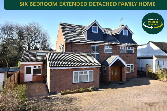 Thumbnail Detached house for sale in Sackville Gardens, Stoneygate, Leicester