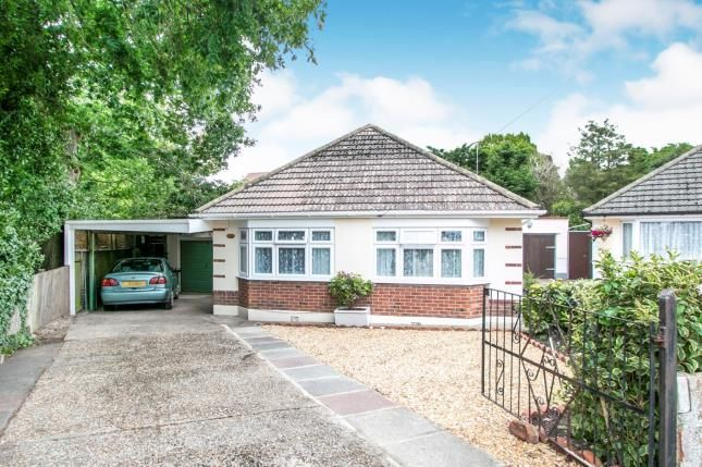 Thumbnail Bungalow for sale in Nutley Close, Bournemouth