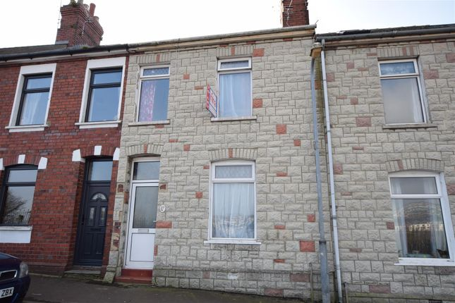 Thumbnail Terraced house to rent in Clive Road, Barry