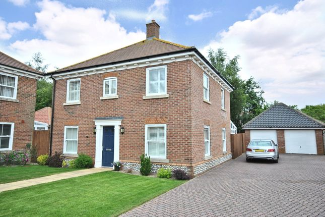 Thumbnail Detached house for sale in Owen Cole Close, Great Massingham, King's Lynn