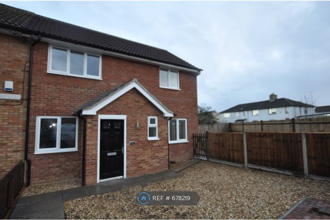Thumbnail End terrace house to rent in Bury Mead, Arlesey