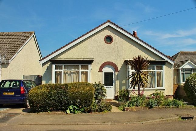 Thumbnail Detached bungalow for sale in Oval Gardens, Gosport