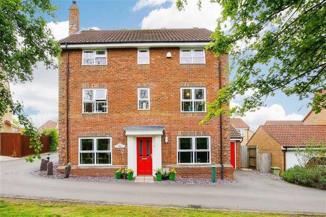 Thumbnail Detached house for sale in Clifton Moor, Oakhill, Milton Keynes, Bucks