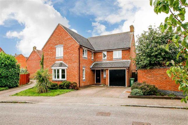 Thumbnail Detached house for sale in Bridgnorth Drive, Kingsmead, Milton Keynes, Bucks