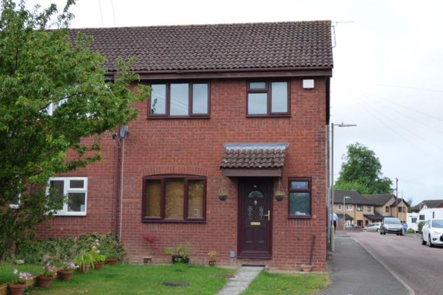 Thumbnail End terrace house to rent in The Willows, Quedgeley, Gloucester
