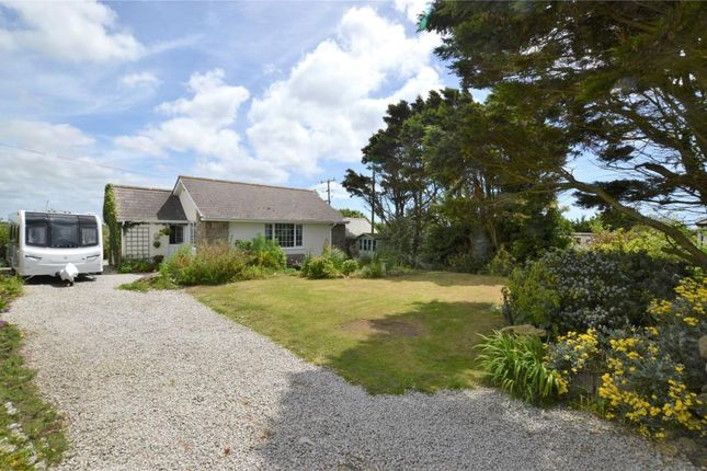 Thumbnail Detached bungalow for sale in Sennen, Penzance, Cornwall