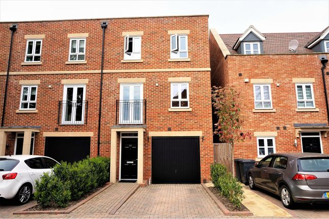 Thumbnail End terrace house for sale in Denman Drive, Newbury