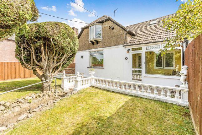 Thumbnail Semi-detached bungalow for sale in The Woodlands, Llantwit Fardre, Pontypridd
