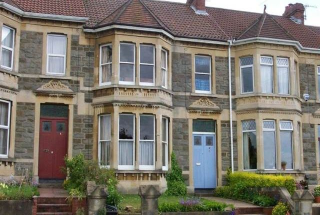 Thumbnail Terraced house to rent in Sylvia Avenue, Knowle, Bristol