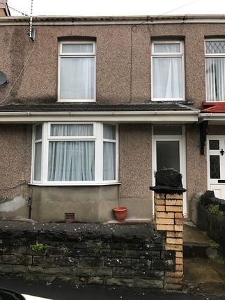 Thumbnail Terraced house to rent in Dynevor Road, Skewen, Neath