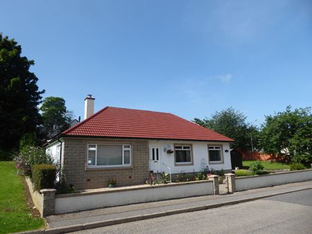 Thumbnail Detached house for sale in 1 Woodside Road, Fochabers
