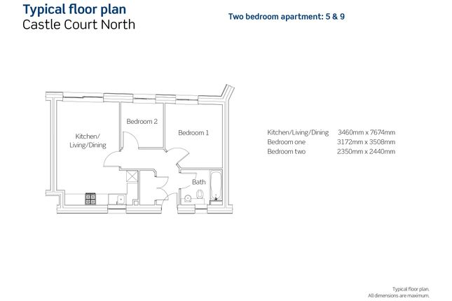1 bedroom flat for sale in Jacob Street, Bristol