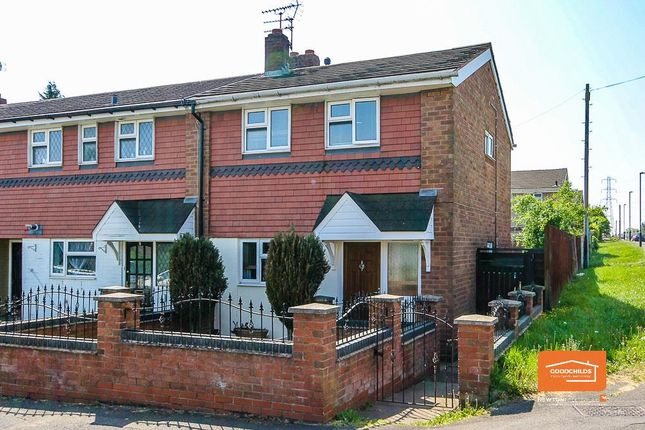 Thumbnail End terrace house for sale in Telford Road, Beechdale, Walsall