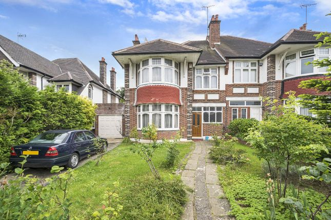 Thumbnail Semi-detached house for sale in Beech Drive, East Finchley, London