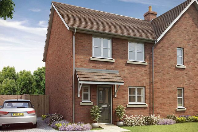 """Thumbnail Terraced house for sale in """"The Eveleigh"""" at Crow Lane, Crow, Ringwood"""