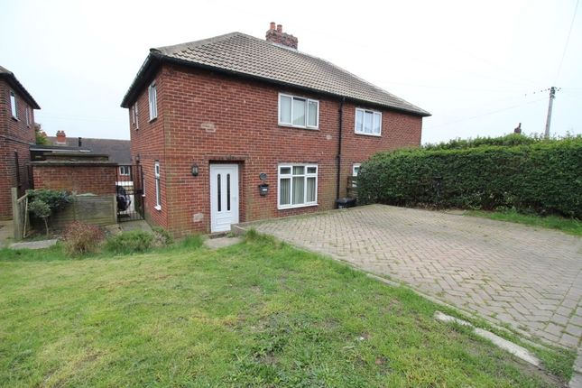 Thumbnail Semi-detached house for sale in Park View, Flockton, Wakefield