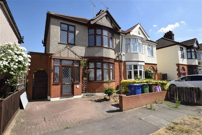 Thumbnail Semi-detached house to rent in Lenmore Avenue, Grays, Essex