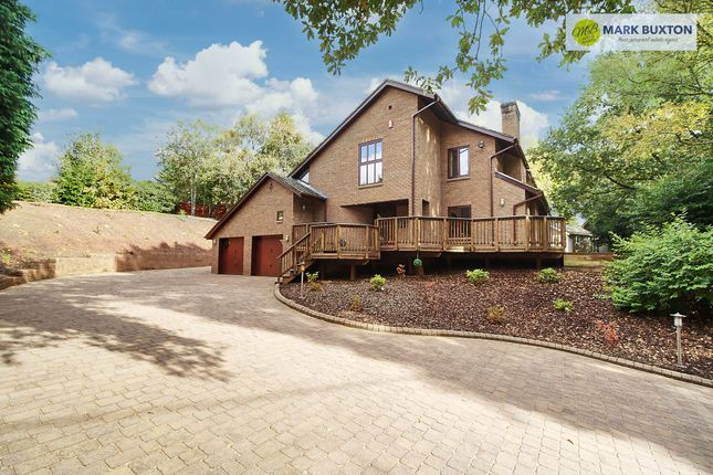 Thumbnail Detached house for sale in Manor Road, Baldwins Gate