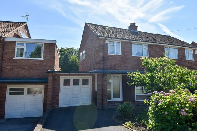 Thumbnail Semi-detached house for sale in St Denis Road, Bournville Village Trust, Selly Oak