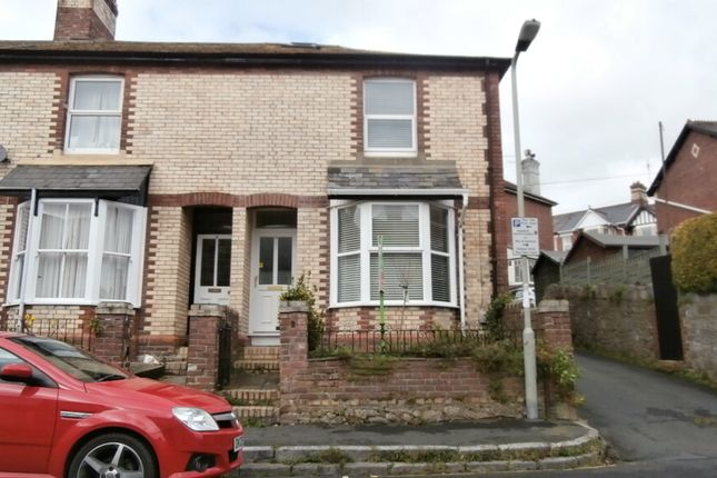 Thumbnail End terrace house to rent in Fisher Road, Newton Abbot