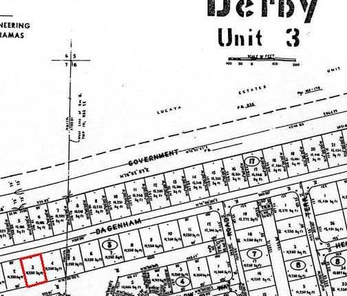 Land for sale in Derby, Grand Bahama, The Bahamas