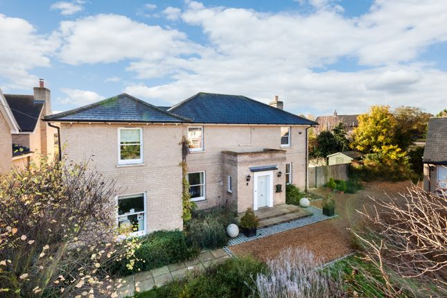 Thumbnail Detached house for sale in New Road, Haslingfield, Cambridge