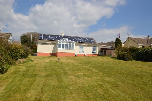 Thumbnail Detached bungalow for sale in Tremabe Park, Dobwalls, Liskeard, Cornwall