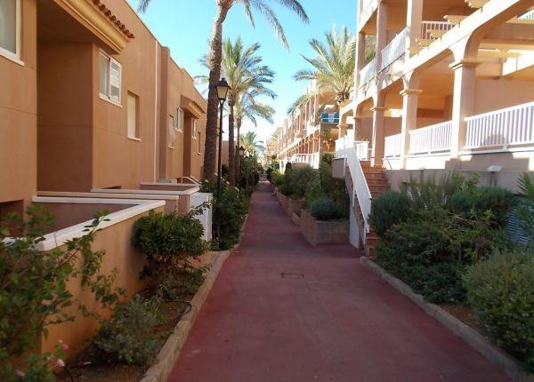 Urbanisation of Marina De La Torre, Mojácar, Almería, Andalusia, Spain
