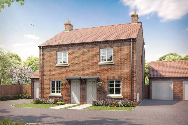 """Thumbnail Semi-detached house for sale in """"The Wistow"""" at Bishopdale Way, Fulford, York"""