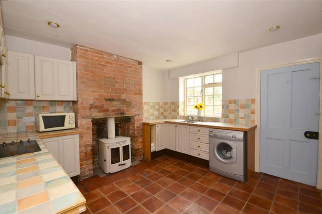 2 bed terraced house for sale in Stone Street, Westenhanger, Hythe, Kent