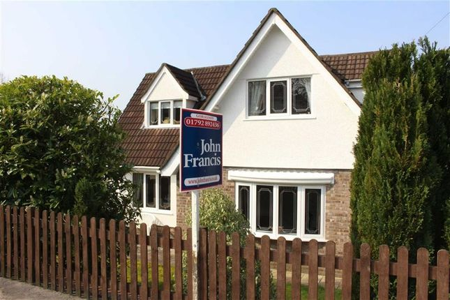Thumbnail Detached house for sale in The Mill, Upper Mill, Pontarddulais, Swansea