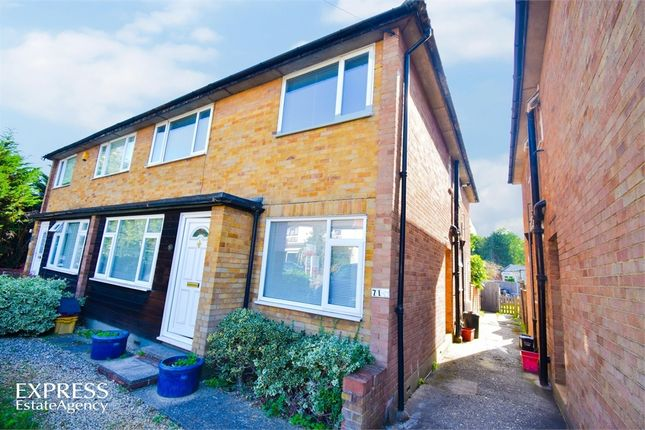 Thumbnail Maisonette for sale in Wash Road, Hutton, Brentwood, Essex